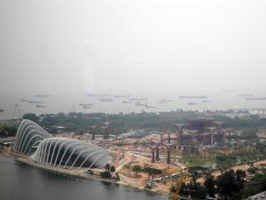 Yep.  Here's Singapore!  Boring...