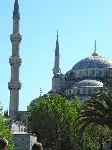 The Blue Mosque in Sultanahmet