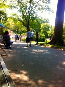 In my beloved Central Park