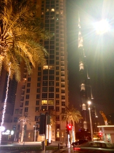 Burj Khalifa from Sheikh Rayed Road (I think)