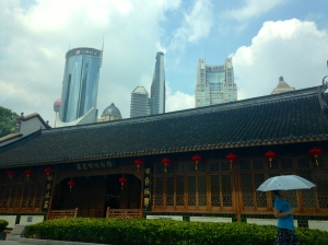 Sad to leave Shanghai, on my way to Hongqiao Airport